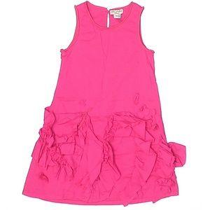 Eliane et Lena 5 embellished pink dress